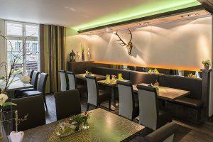 Hirsch Restaurant Langenberg Innenraum 1