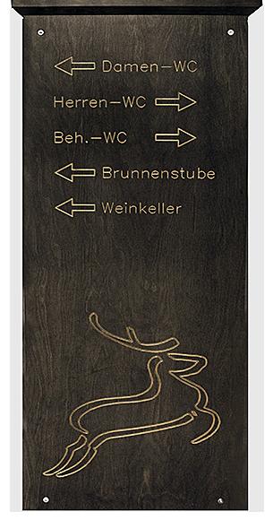 Hirsch Langenberg Wegweiser